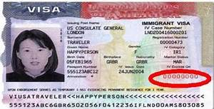 Location of the Visa Number - CitizenPath