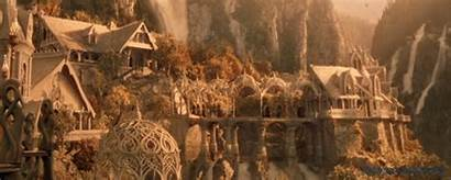 Lord Rings Rivendell Places Elven Earth Middle