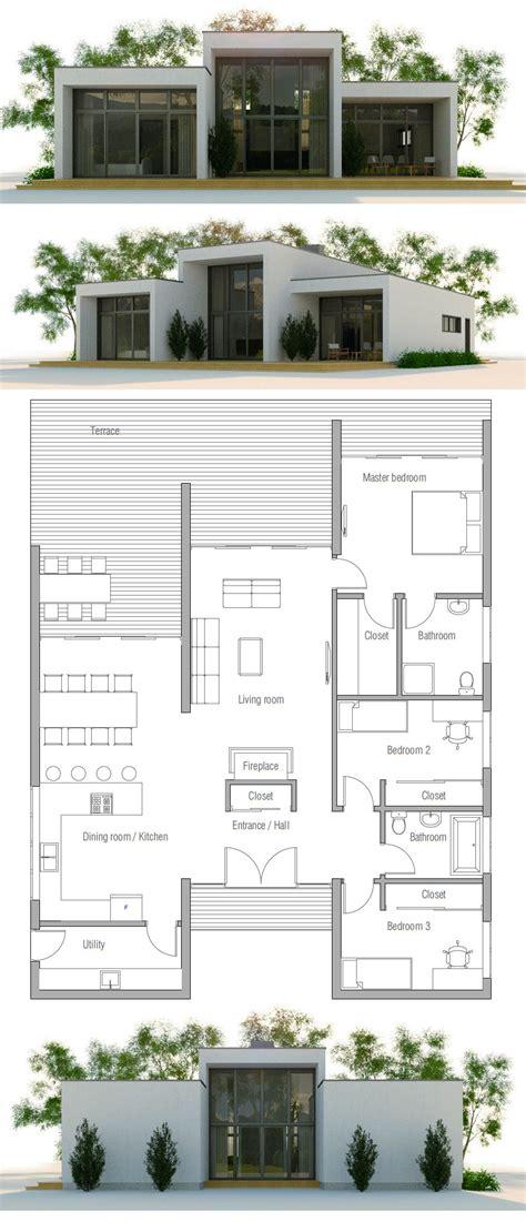 modern minimalist house plan top  house plans plan