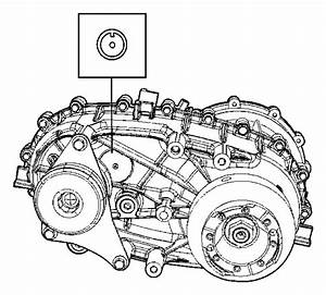 2008 Jeep Wrangler Transfer Case  Np241  Relabel