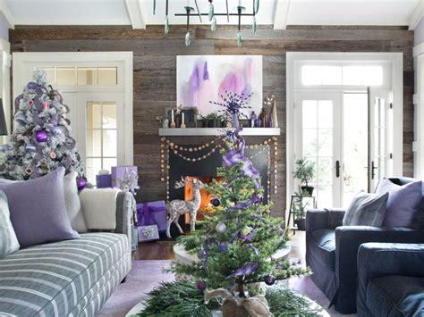 dec for christmashgtv modern color scheme hgtv