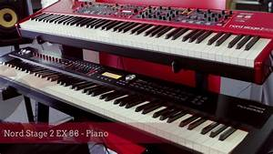 Nord Stage 2 Occasion : roland rd 2000 vs nord stage 2 ex 88 digital stage piano sound comparison youtube ~ Maxctalentgroup.com Avis de Voitures