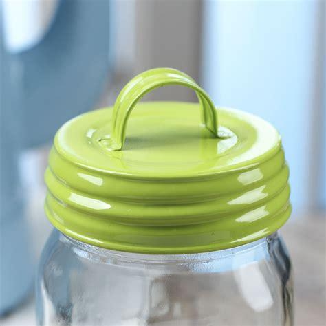jar lid crafts green enamelware mason jar lid with handle jar lids basic craft supplies craft supplies