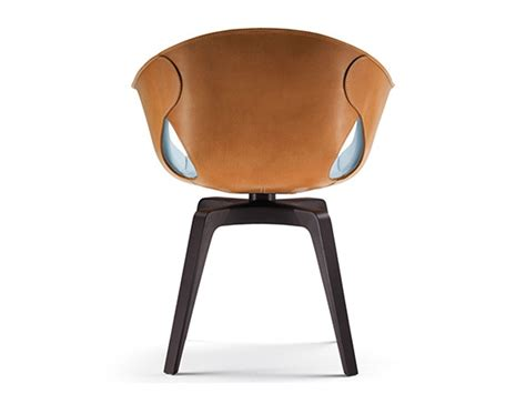 Poltrona Frau Ginger Chair By Roberto Lazzeroni