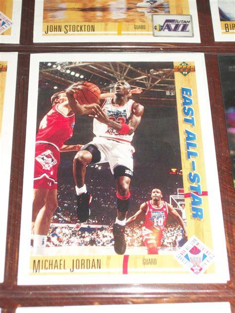 michael jordan   upper deck east  stars basketball