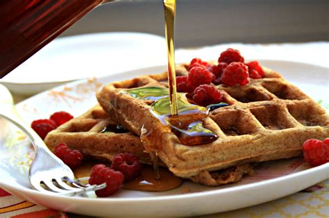Molasses flax waffles - an old Norwegian recipe updated ...