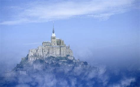 known places mont michel at normandy desktop wallpaper nr