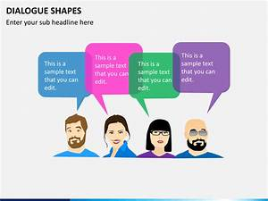 Dialogue Shapes Powerpoint