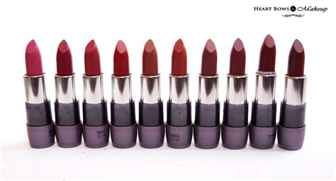 oriflame the one matte lipstick review swatches price india bows makeup