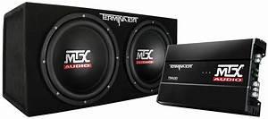 Tnp212d2 Mtx Car Subwoofer Enclosure And Amplifier Mtx Audio