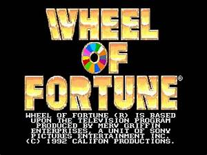 Wheel Of Fortune USA ROM Download