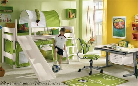 5 Creative Bedrooms With Themes by Construindo Minha Casa Clean 35 Quartos Infantis