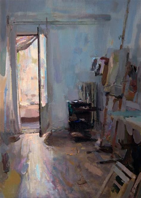 Saatchi Art Morning (interior #110) *sold* Painting By