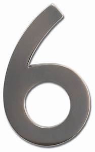 floating house number 6 dark aged copper traditional With floating house letters