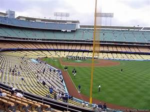 Seating Chart Dodger Stadium Rows Dodger Stadium Section 166 Rateyourseats Com