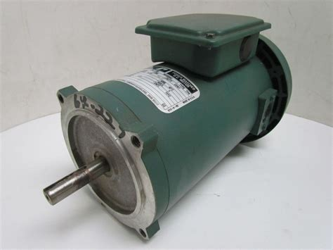 Reliance Electric Motors by Reliance Electric T56s2004a 1 2hp 90v 56c Frame Tefc Power