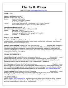 Charles B Wilson Charles Wilson _ Financial Law Resume