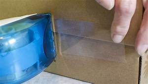 Packing Tape Dispenser Loading Instructions