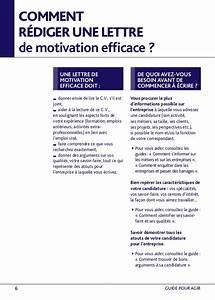 Lettre De Motivation écrite Ou Ordi : comment rediger une lettre de motivation ~ Medecine-chirurgie-esthetiques.com Avis de Voitures