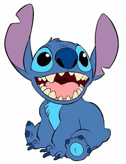 Stitch Disney Lilo Clipart Clip Characters Cliparts