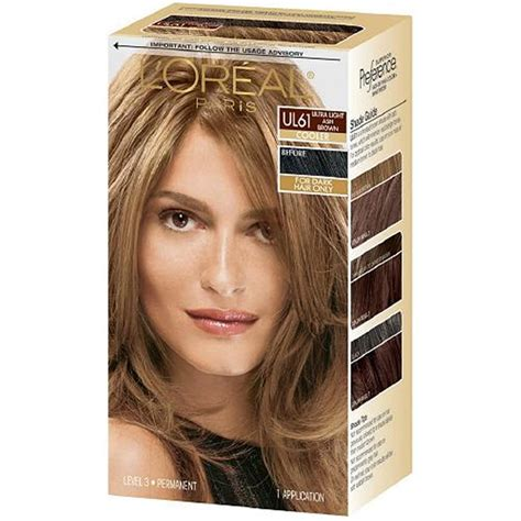 loreal medium ash brown hairstyle  women man