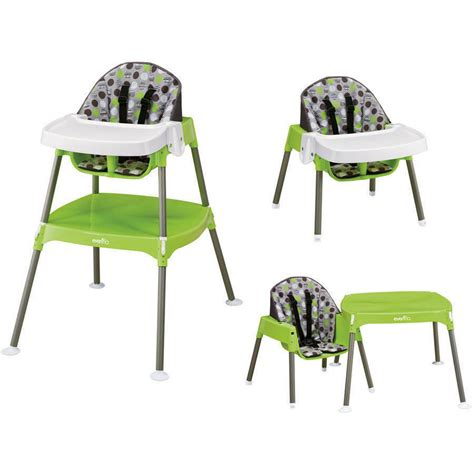 baby high chair table convertible seat booster toddler