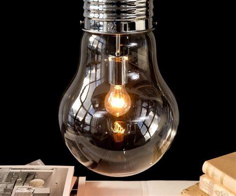 Leuchtet Eine Glühbirne by H 228 Ngeleuchte Bulb Deluxe 30 Cm Transparent Gl 252 Hbirne M 246 Bel