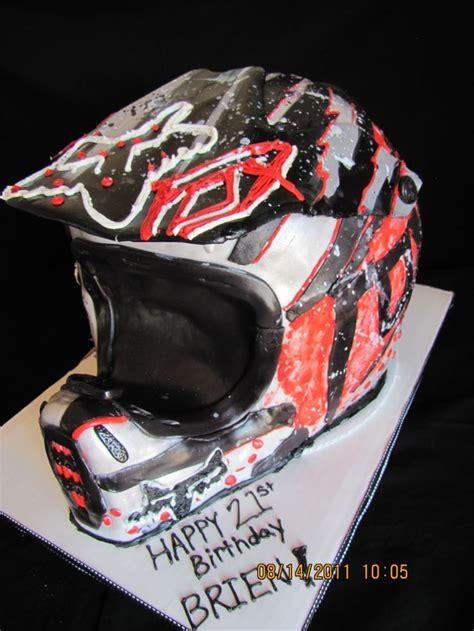 motocross helmet cake dirt bike helmet cake this would be great for my