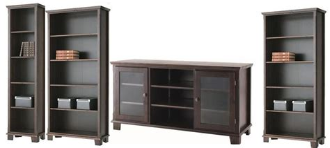 Markor Bookcase by Ikea Markor Bookcases And Tv Stand In Brown Ikea