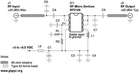 One Watt Ghz Linear Amplifier
