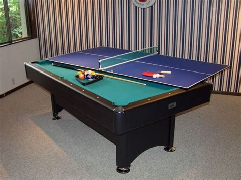 Kitchen Pool Table Combo Ping Pong Table Top For Pool
