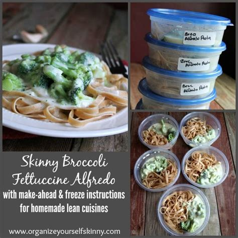 are lean cuisines healthy and healthy broccoli fettuccine alfredo