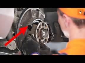 remplacement des machoires de frein  main mercedes benz