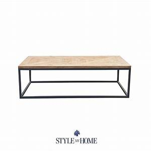 39frankie39 15m parquet wood metal rectangle coffee table With parquet reclaimed wood rectangular coffee table