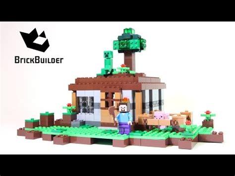 lego minecraft    night lego speed build
