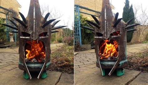 portable pit for cing cing firepit the eye of sauron or the witch king your