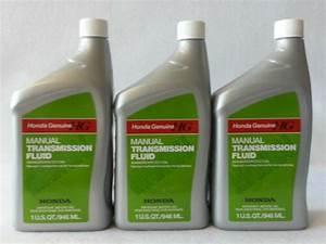 3 Quarts Genuine Honda Manual Transmission Fluid Mtf