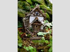 267 best Woodland Fairy Houses images on Pinterest
