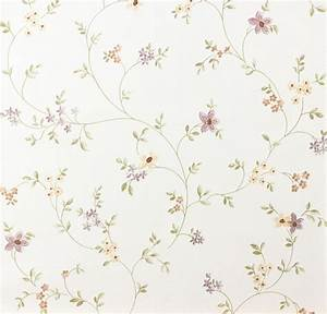 Cottage style wallpaper fleuri pastel as 93770 1 937701 for Tapete küche landhaus