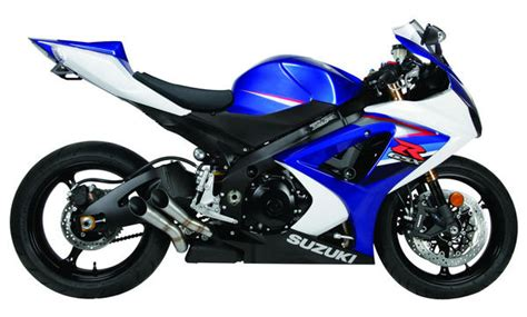suzuki gsxr   exhaust gp slip  dual exhaust