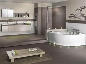 carrelage salle de bain esprit zen With salle de bain esprit zen