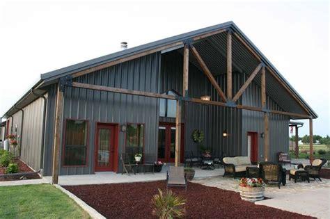 shop house plans ideas  pinterest metal barn homes pole barn houses  pole barn
