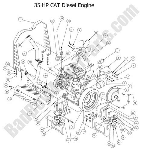 bad boy parts lookup  diesels hp cat diesel engine