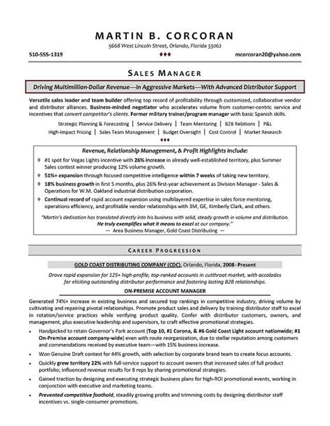 image result  resume executive vice president project
