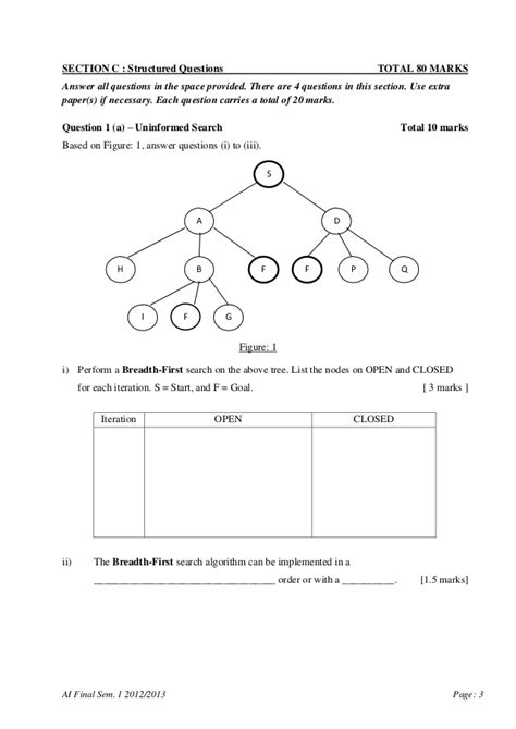 Artificial intelligence midterm exam paper - gcisdk12.web