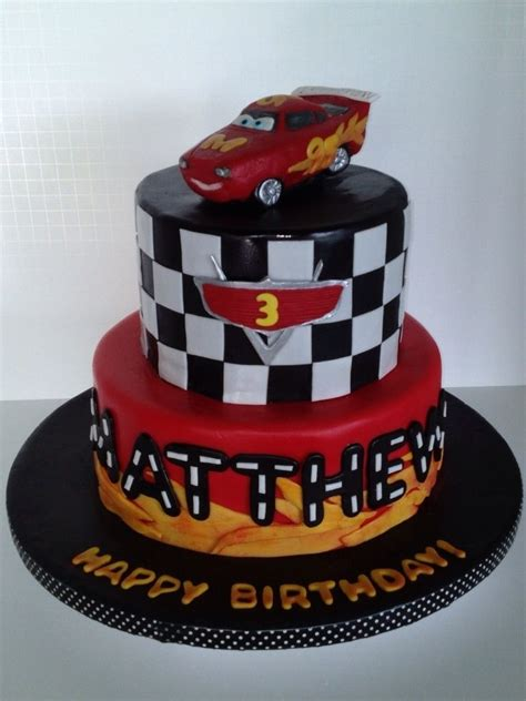 lightning mcqueen birthday cake lightning mcqueen cake