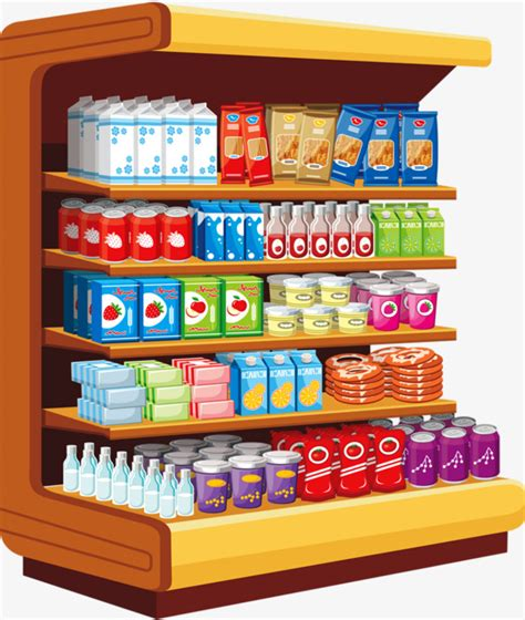 Grocery Store Clipart Grocery Store Painted Shop Png Image And Clipart