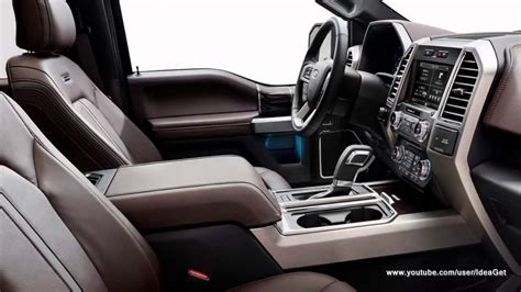 Upholstery Pictures by 2015 Ford F 150 Interiors And Exteriors