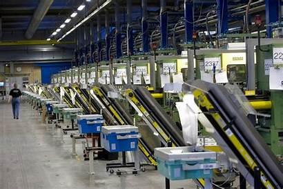 Spuit Giet Industrie Verlichting Led Fabriek Machines