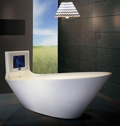 cool bathtubs  built  tvs digsdigs
